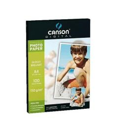 Papier CANSON Digital Everyday - Papier photo - brillant - A4 (210 x 297 mm) - 180 g/m² - 10 feuille(s)