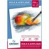 Blocco Canson - Huile & acrylique