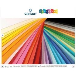 Cartoncini Colorati Canson - Colorline