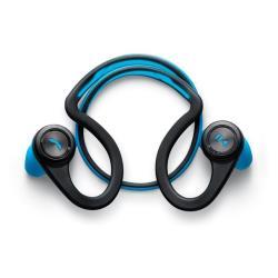 Plantronics Backbeat Fit - Casque - intra-auriculaire - montage derrière le cou - sans fil - Bluetooth - bleu électrique