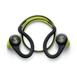 Plantronics Backbeat Fit - Casque - intra-auriculaire - montage derrière le cou - sans fil - Bluetooth - vert citron