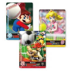 Nintendo amiibo Mario - Sports Superstars series - kit de carte de jeu vidéo supplémentaire