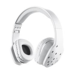 Urban Revolt Mobi - Casque avec micro - sur-oreille - jack 3.5mm - blanc