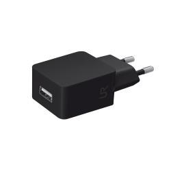 Chargeur Urban Revolt Wall Charger - Adaptateur secteur - 5 Watt - 1 A (USB (alimentation uniquement)) - noir