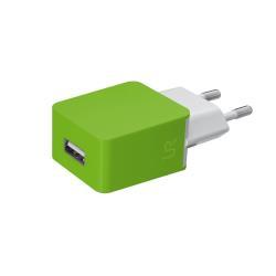 Chargeur Urban Revolt Wall Charger - Adaptateur secteur - 5 Watt - 1 A ( USB (alimentation uniquement) ) - citron vert