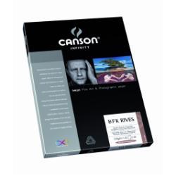 Papier CANSON Infinity B F K Rives - Papier de chiffon pour photo artistique - blanc pur - A4 (210 x 297 mm) - 310 g/m² - 25 feuille(s)
