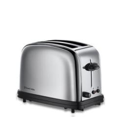 Grille pain Russell Hobbs CHESTER - Grille-pain - 2 tranche - 2 Emplacements - inox poli