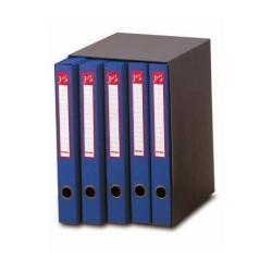Boîte à archive Rexel Jazz - Classeur à anneaux - 250 mm - 230 x 320 mm - rouge (pack de 6)