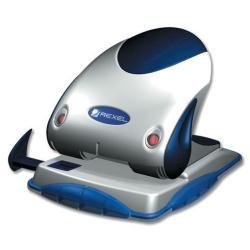 Perforatrice Rexel Precision P240 - Perforateur - 40 feuilles - Bleu/argent
