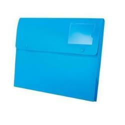 Porte-documents Rexel Joy Extra Capacity - Valisette - extensible - A4 - pour 200 feuilles - blissful blue (pack de 5)