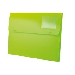 Porte-documents Rexel Joy Extra Capacity - Valisette - extensible - A4 - pour 200 feuilles - lovely lime (pack de 5)