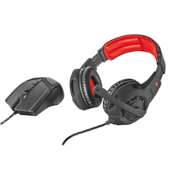 Trust GXT 784 - Gaming - casque - pleine taille - avec Gaming Mouse