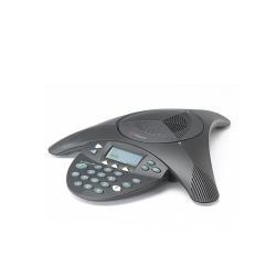 Téléphone fixe Polycom SoundStation2 EX - Téléphone pour conférence avec ID d'appelant