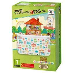 Console Nintendo - New 3ds xl+animal crossing happy home de