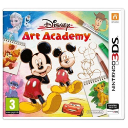 Videogioco Nintendo - Disney art academy