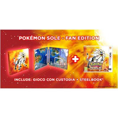 Nintendo - 3DS POKE SOLE  STEEL C. (LIMITED)