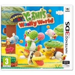 Jeu vidéo Poochy & Yoshi's Woolly World - Nintendo 3DS - italien