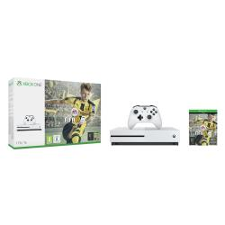 Console Microsoft Xbox One S - FIFA 17 Bundle - console de jeux - 4K - HDR - 1 To HDD - blanc - FIFA 17