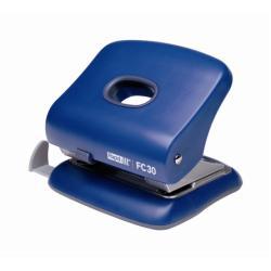 Perforatrice Rapid Fashion FC30 - Perforateur - 30 feuilles - métal, plastique ABS - bleu vert