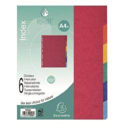 Image of Divisori 12 tasti A4 MAXI (buste forate) RealizzatI in cartoncino lustré 225 g/mq