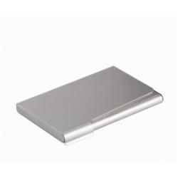 Boîte à archive DURABLE - Porte-cartes de visite - 20 cartes - aluminium - argenté(e)