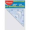 Maped - Maped - Équerre - 21 cm - 45°,...