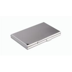 Boîte à archive DURABLE Business Card Holder/Case DUO - Porte-cartes de visite - aluminium - argenté(e)