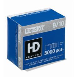 Agrafe Rapid Super Strong - Agrafes - 9/10 - 10 mm - acier galvanisé - pack de 5000 - pour Rapid HD9