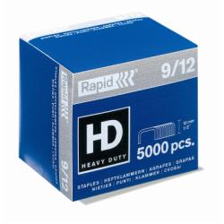 Agrafe Rapid Super Strong - Agrafes - 9/12 - 12 mm - acier galvanisé - pack de 5000 - pour Rapid HD9; Fashion HD110