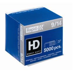 Agrafe Rapid Super Strong - Agrafes - 9/14 - 14 mm - acier galvanisé - pack de 5000 - pour Rapid HD9