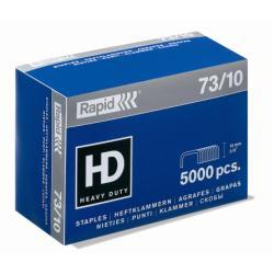 Agrafe Rapid Super Strong - Agrafes - 73/10 - 10 mm - acier galvanisé - zingué - pack de 5000 - pour Rapid HD31; Classic HD31