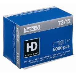 Agrafe Rapid Super Strong - Agrafes - 73/12 - 12 mm - métal galvanisé - pack de 5000 - pour Classic HD31