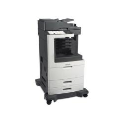 Imprimante laser multifonction Lexmark MX810dme - Imprimante multifonctions - Noir et blanc - laser - Legal (216 x 356 mm) (original) - A4/Legal (support) - jusqu'� 52 ppm (copie) - jusqu'� 52 ppm (impression) - 1200 feuilles - 33.6 Kbits/s - USB 2.0, Gigabit LAN, 2 h�tes USB