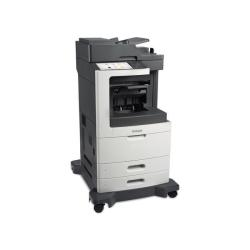 Imprimante laser multifonction Lexmark MX811dfe - Imprimante multifonctions - Noir et blanc - laser - Legal (216 x 356 mm) (original) - A4/Legal (support) - jusqu'� 60 ppm (copie) - jusqu'� 60 ppm (impression) - 1200 feuilles - 33.6 Kbits/s - USB 2.0, Gigabit LAN, 2 h�tes USB