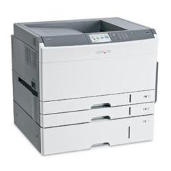 Imprimante laser Lexmark C925dte - Imprimante - couleur - Recto-verso - LED - A3/Ledger - 600 ppp - jusqu'� 31 ppm (mono) / jusqu'� 31 ppm (couleur) - capacit� : 1000 feuilles - USB, Gigabit LAN, h�te USB