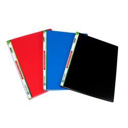 Boîte à archive Lebez - Porte vues - 20 pochettes - A4 - bleu (pack de 12)