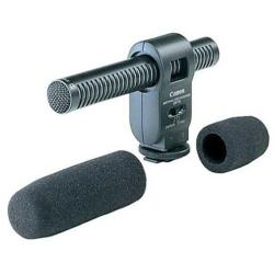 Canon DM-100 - Microphone - pour iVIS HF G20, HF S10; LEGRIA HF G25, HF M506, HF M52, HF M56; VIXIA HF G20, HF G40, HF M301