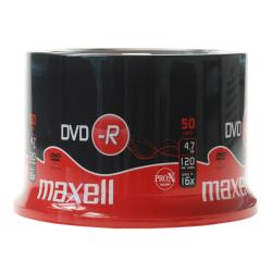 Maxell - 50 x DVD-R - 4.7 Go 16x - surface imprimable - spindle