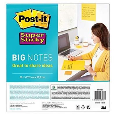 Post-it - SUPER STICKY BIG NOTES VERDE