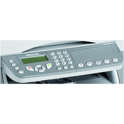 Imprimante laser multifonction COPIA STAMPA SCANNER FAX 20CPM  20PPM  USB 2.0  33.6 BPS  ADF 50FF  SCANNER COLORE 600X2400  TONER