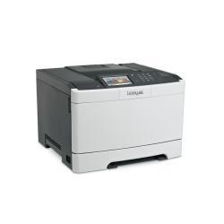 Imprimante laser Lexmark CS510de - Imprimante - couleur - Recto-verso - laser - A4/Legal - 1200 x 1200 ppp - jusqu'à 30 ppm (mono) / jusqu'à 30 ppm (couleur) - capacité : 250 feuilles - USB, Gigabit LAN, hôte USB