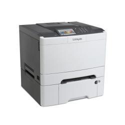 Imprimante laser Lexmark CS510dte - Imprimante - couleur - Recto-verso - laser - A4/Legal - 1200 x 1200 ppp - jusqu'à 30 ppm (mono) / jusqu'à 30 ppm (couleur) - capacité : 900 feuilles - USB, Gigabit LAN, hôte USB