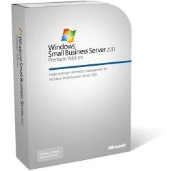 Logiciel Microsoft Windows Small Business Server 2011 Premium Add-on CAL Suite - Licence - 5 licences d'accès client utilisateurs - OEM - 64-bit - anglais