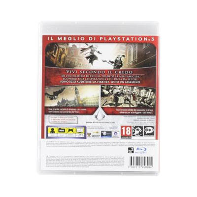 Ubisoft - PS3 ESS ASSASSIN2 GAME OF THE YEAR