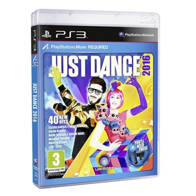 Ubisoft - PS3 JUST DANCE 2016