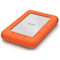 Disque dur externe LaCie Rugged Mini - Disque dur - 1 To - externe (portable) - USB 3.0 - 5400 tours/min