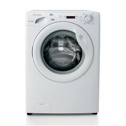 Lave-linge Candy GrandO' Comfort GC 1282D3-01 - Machine � laver - pose libre - largeur : 60 cm - profondeur : 52 cm - hauteur : 85 cm - chargement frontal - 8 kg - 1200 tours/min