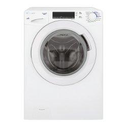 Lave-linge Candy Grand� Vita GV 138TW3-01 - Machine � laver - pose libre - largeur : 60 cm - profondeur : 52 cm - hauteur : 85 cm - chargement frontal - 8 kg - 1300 tours/min - blanc