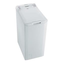 Lave-linge Candy EvoPlaisir EVOT 10071D/1-S - Machine � laver - pose libre - largeur : 40 cm - profondeur : 60 cm - hauteur : 80 cm - chargement par le dessus - 43 litres - 7 kg - 1000 tours/min - blanc