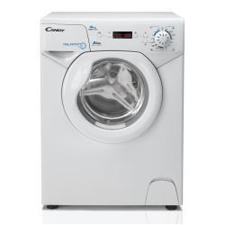 Lave-linge Candy AQUA 1042D1/2-S - Machine à laver - pose libre - largeur : 51 cm - profondeur : 44 cm - hauteur : 69 cm - chargement frontal - 27 litres - 4 kg - 1100 tours/min - blanc